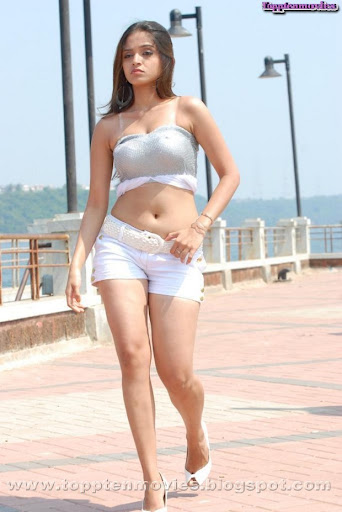 Sheena Shahabadi Navel Hot Pics