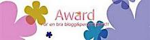 Min första award!!!