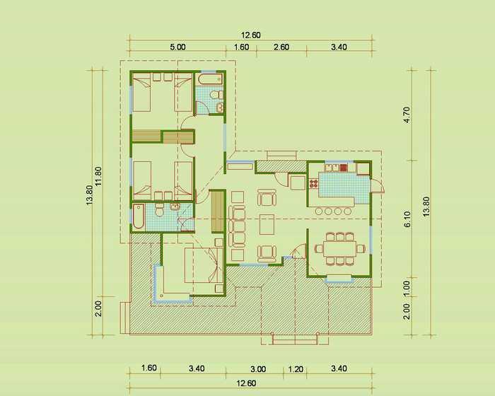 Cix885yfin planos de casas de madera - Planos de casas pareadas ...