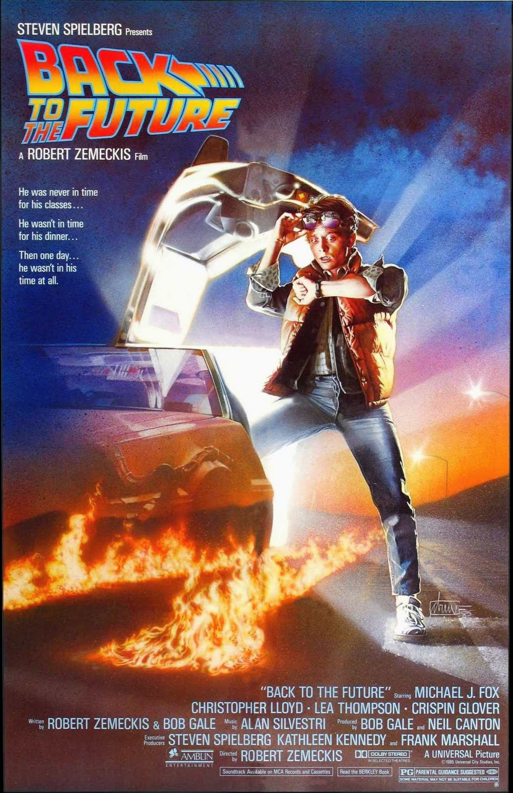 Snobbery 25 years ago today back to the future july 3 1985