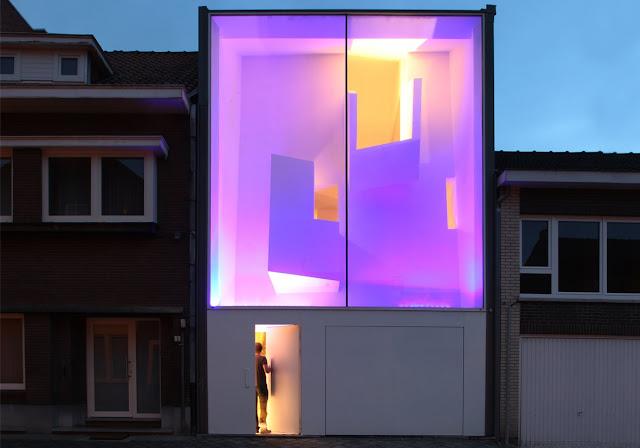 Arquitetura feminina casas de vidro pelo mundo for Casa moderna stretta