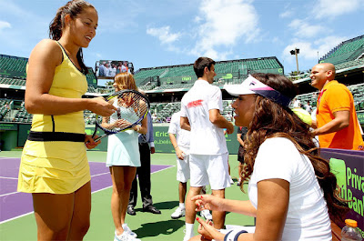 Ana Ivanovic and Mel B