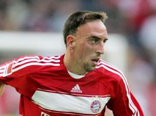 Franck Ribery of Bayern Munich