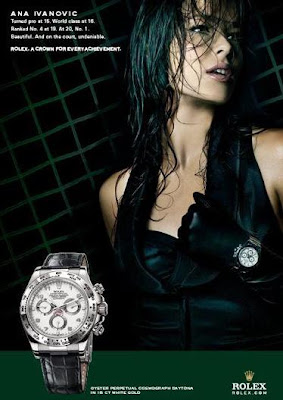 Ana Ivanovic for Rolex