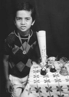 Childhood Picture of Rahul Dravid