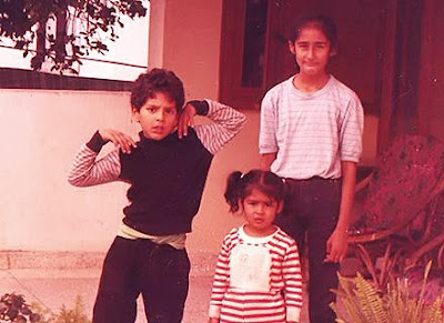 Childhood Photograph of Yuvraj Singh