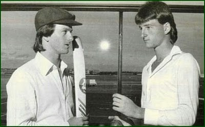Childhood Picture of Steve Waugh and Mark Waugh