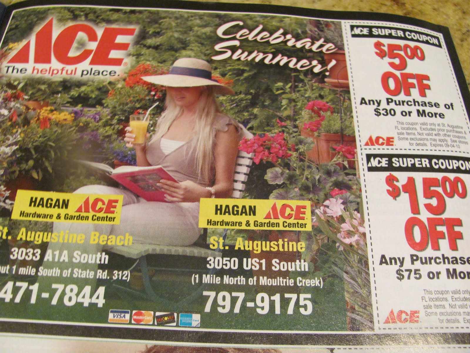 st augustine savers coupon workshop ace hardware coupon in the mint