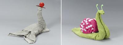 துவாய் சிற்பங்கள்  Cool+animal+towel+sculpture20