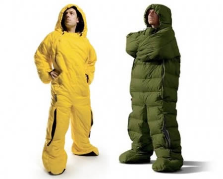10 ridiculous sleeping bags weird pictures. Black Bedroom Furniture Sets. Home Design Ideas