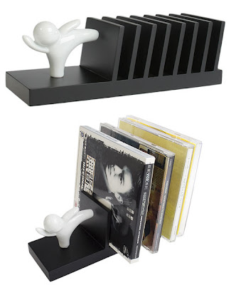 DNA Helix CD Rack