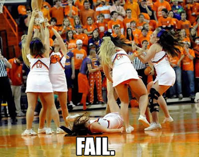 15 Embarrassing Moments in Cheerleading