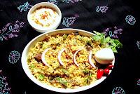 Mutton Pulao (Malabar Cuisine) / Malabar Mutton Pulao recipe / Mutton Pulao Malabar Style recipe / Mutton Pulao recipe