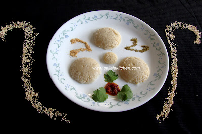 Quinoa Idli / Quinoa Idly Recipe / A Very Healthy Steamed Cakes/idli recipe