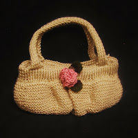 This handmade knit purse is only a click away!