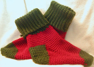 Christmas house socks