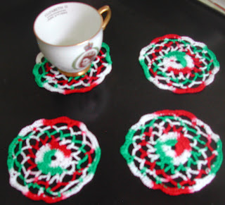 These Christmas Coasters are free with any purchase today!