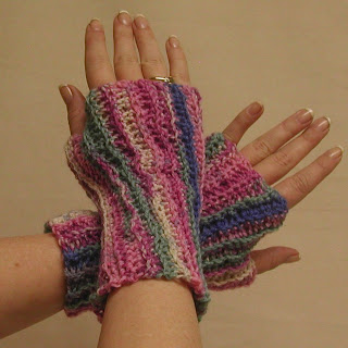 Aome people call them fingerless gloves, others, wrist warmers