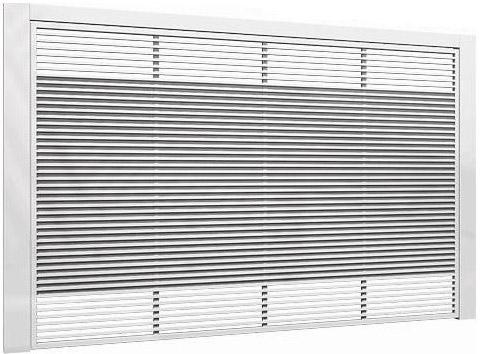 Metalon 40x20 em horizontal com chapa galvanizada por traz.
