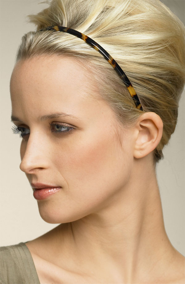 Hairstyles For Short Hair Using Headband : Little Sweet Things For You: HeadBands~