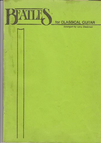 the beatles classical guitar pdf
