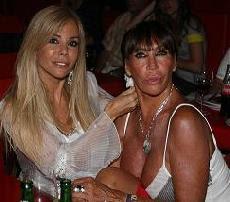 Moria Casán y Graciela Alfano
