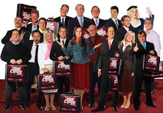 Politicos de Gran Cuñado 2009