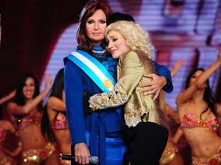 Nacha eliminada de Gran Cuñadoi 2009