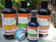 WAG WASH dog shampoos, spritzers & balms