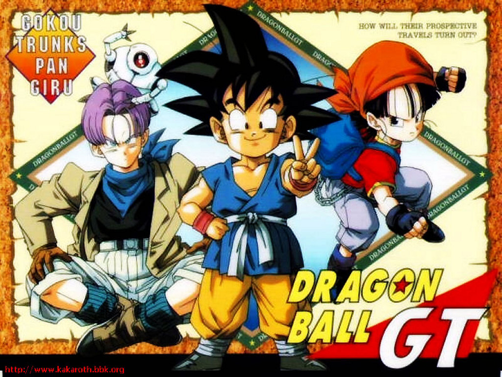 Dragon Ball GT Completo  Blu-Ray 720p Download Torrent Dublado