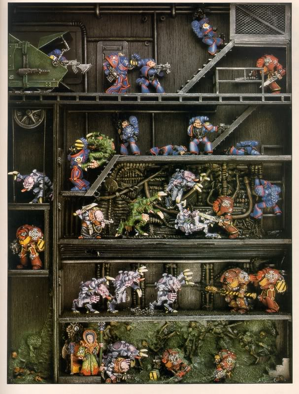 Realm of Chaos 80s: Dioramadrama: Rogue Trader Old School Stuff