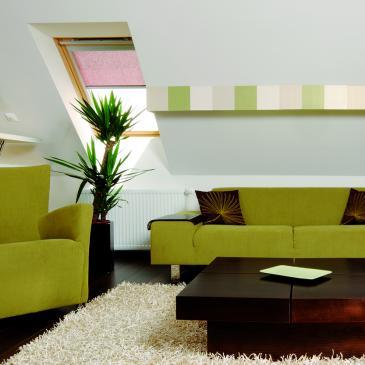 LAKBER MÁNIA: Zöld bútorok