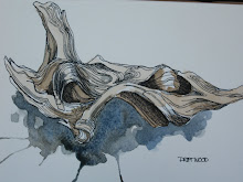 Ink & water colour