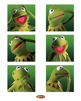 Kermit the Frog pop art kermit