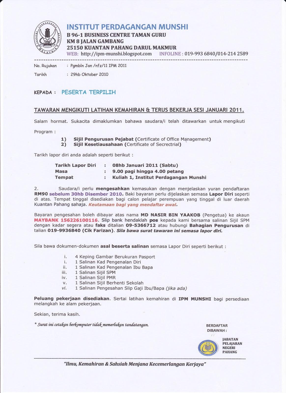 format resume kerja swasta 28 images undang undang