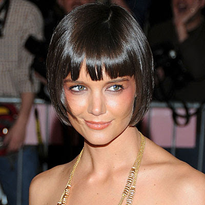 Katie Holmes Pics on Celebrity Hair Cuts  Katie Holmes