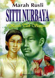 Novel Siti Nurbaya - Kasih Tak Sampai