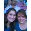 Britt and I at Bucky Concert ;D