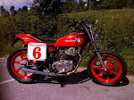 Project 1, 78 Yamaha sr500, completed. sold