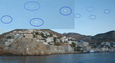 Disc Shaped UFO's Spotted Hovering Above Greece, UFO Sighting News