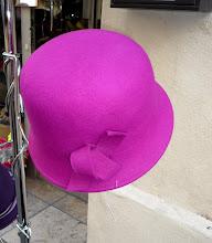 une cloche rose