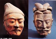 têtes modelées
