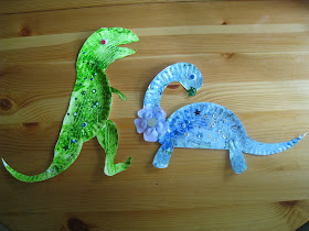 4 Crazy Kings Paper Plate Dinosaurs