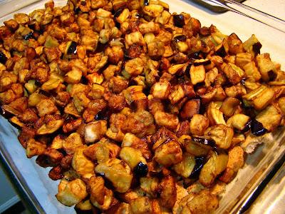 Etimekli patlıcan salatası tarifi(resimli anlatım)