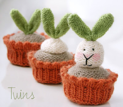 knitted rabbit knitted bunny