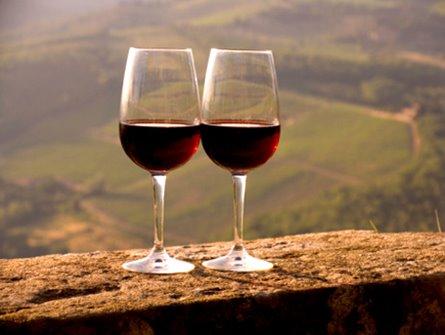 Degustando Vinho com Churrasco