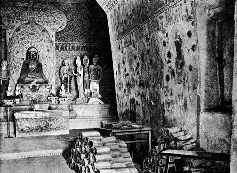 Dunhuang Library, Mogao Caves, China
