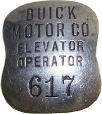 elevator badge