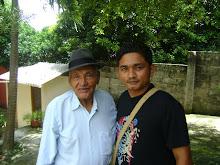 Con el maestro JUAN MADERA
