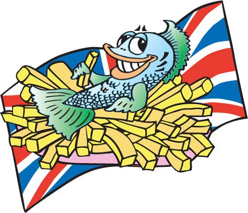 fish and chips cartoon. fish and chips cartoon. FISH AND CHIPS